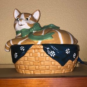 Cat Cookie Jar B&D Japan